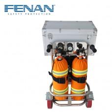 车载立式两瓶移动供气源